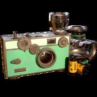 FO76 ATX Wavy Willard camera skin