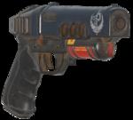 FO76 Chimera Pistol Pyro Angle