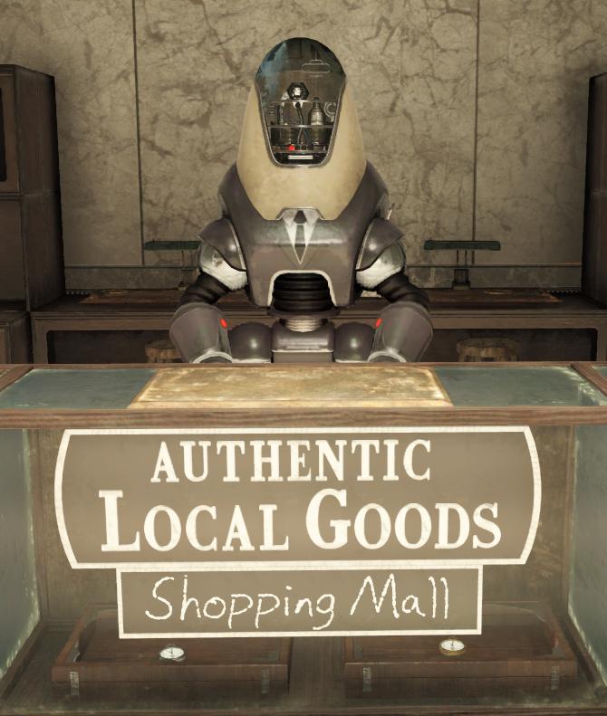 Shopping mall vendor