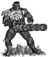 Fallout d20 super mutant by Tensen01