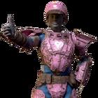 Atx skin armorskin metal pink l