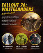 FO76WL 2020 Roadmap banner
