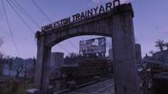 FO76 Charleston trainyard sign 915 6