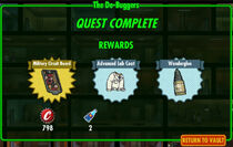 FoS The De-Buggers rewards