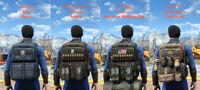 Modular military backpack serie4