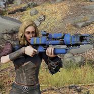 Atx skin weaponskin lasergun vaulttec c3