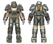 FO4 T-60 power armor BOS paladin