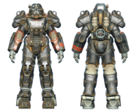 FO4 T-60 power armor BOS paladin