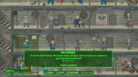 Fallout 4 – Ventaja Grandes Ligas