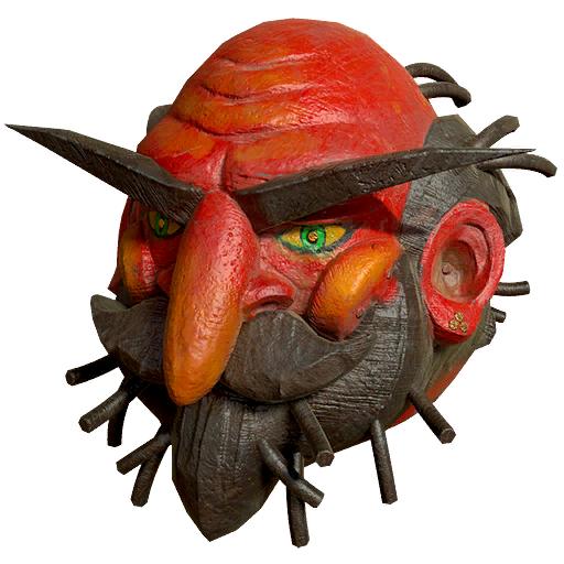 Fasnacht Old Man Summer mask