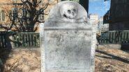 Shem Drowne grave tombstone
