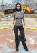 Vault-Tec overseer t-shirt female