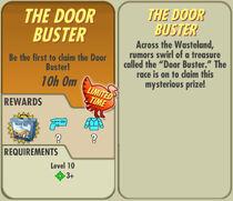 FoS The Door Buster card