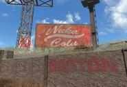 Fo4 D city Nuka Cola board