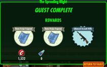 FoS The Spreading Blight rewards