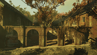 FO76 Harpers Ferry Armory Courtyard