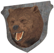 FO76 taxidermy bear brown