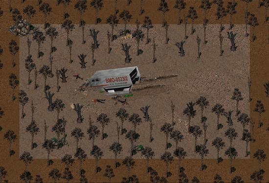 Fo2 Federation Crash Site special encounter.png