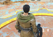 Fo4 leather coat no backpack