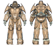 FO4CC X-02 power armor tan