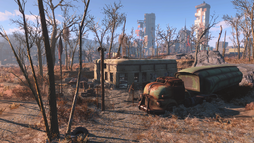 FO4 South Boston Military Checkpoint.png
