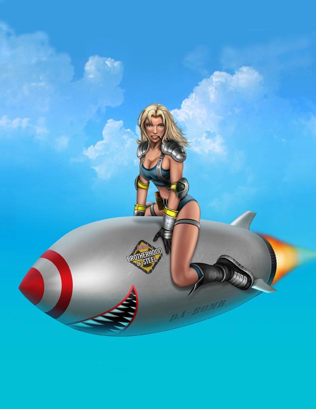 Agent c/Miss Wasteland Final