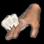 «Личный знак» на руке