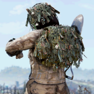 FO76 Ghillie Backpack 2
