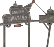 FO76 Gorge junkyard sign 14