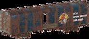 FO76 Train car NAR