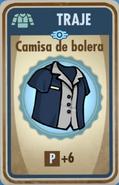 FOS Camisa de bolera carta