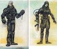 FO3 Enclave officer concept art