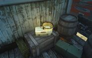 FO4 Bugs Superposition bucket & first aid (Nuka-World, Dry Rock Gulch)