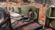 FO76 Firebase Hancock (Brotherhood corpse)