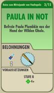 FOS - Questkarte - Reise zum Mittelpunkt von Vaultopolis - 3 - Paula in Not - Front