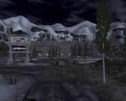 Jacobstown w nocy