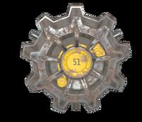 FO76 Vault 51 door nif