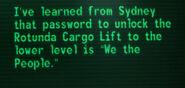 Terminal Password