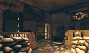 FO76WL ransacked bunker entrance