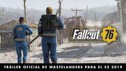 Fallout 76 – Tráiler oficial de Wastelanders para el E3 2019