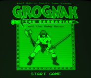 Fo4 Grognak game intro screen