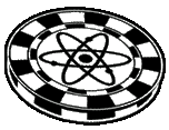 Icon pokerchip atomic