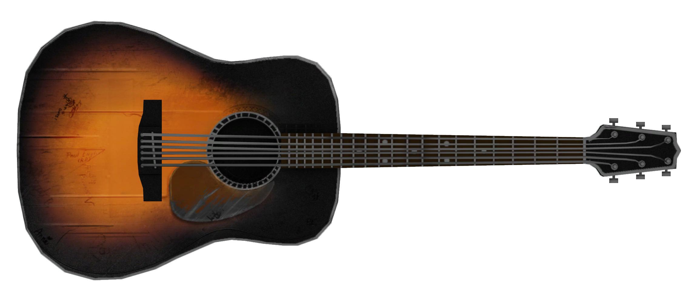 Acoustic Guitar Fallout New Vegas Fallout Wiki Fandom