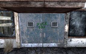 FNV Nevada Highway Patrol station doors