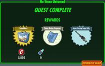 FoS No Stone Unturned rewards