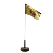 Atx camp decoration flagwaving raider faction l