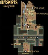 Carbon railyard map