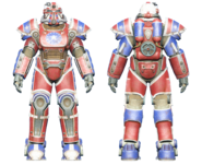 FO4CC T-51 power armor patriotic