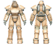 FO4CC T-51 power armor tan