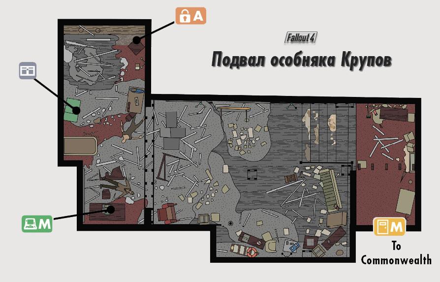Подвал особняка Крупов